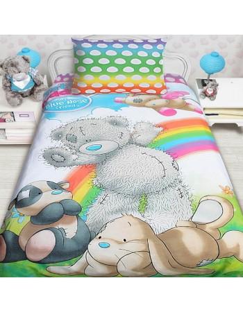 Комплект постельного белья Teddy blue nose