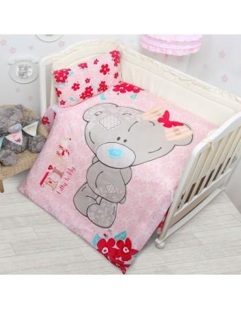 Комплект постельного белья Teddy для девочки
