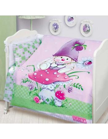 Комплект постельного белья Зайка гномик