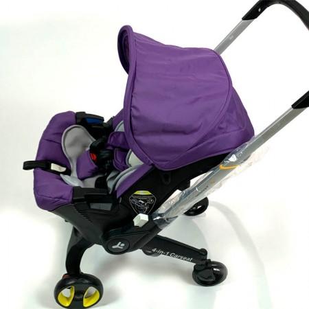Коляска-автокресло Vinng FooFoo 4 в 1 фиолетовый