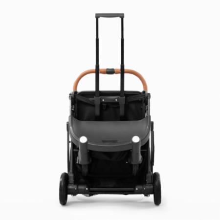 Коляска прогулочная YOYA Plus MAX 2021 серый (рама черная)