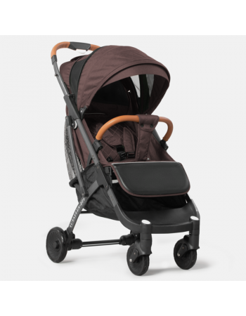 Коляска прогулочная YOYA Plus Pro 2020 коричневый (рама черная)