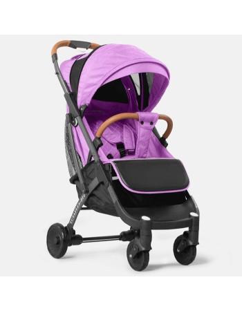 Коляска прогулочная YOYA Plus Pro 2020 фиолетовый (рама черная)