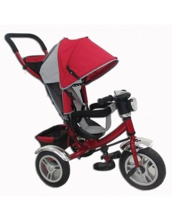 Велосипед трехколесный Tiger  + фара (надув. колеса)