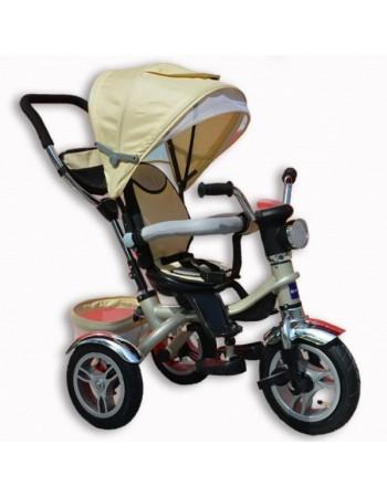 Велосипед трехколесный Jaguar + фара (надув. колеса)