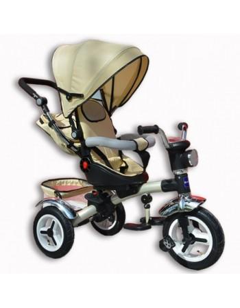 Велосипед трехколесный Lion + фара (надув. колеса)